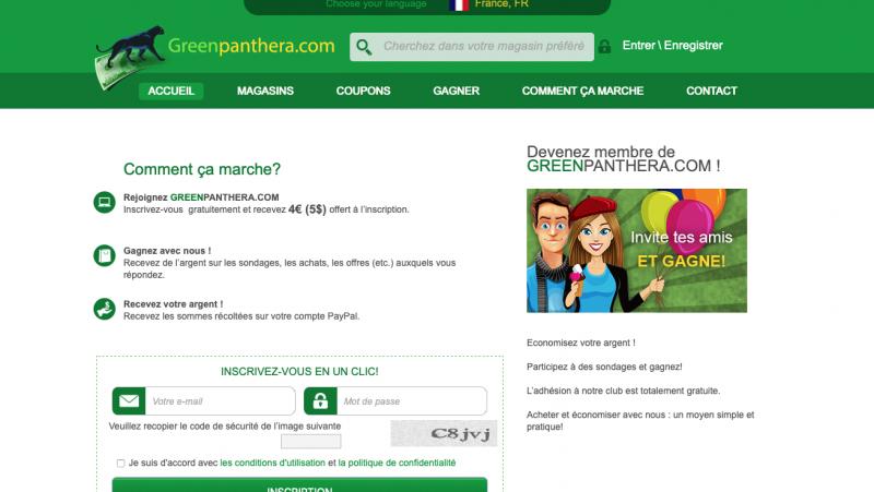 Greenpanthéra : Avis et présentation du site de sondage