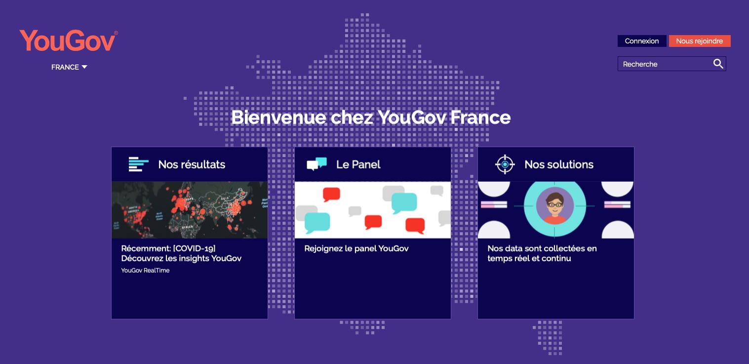 YouGov : avis et présentation de ce site de sondage
