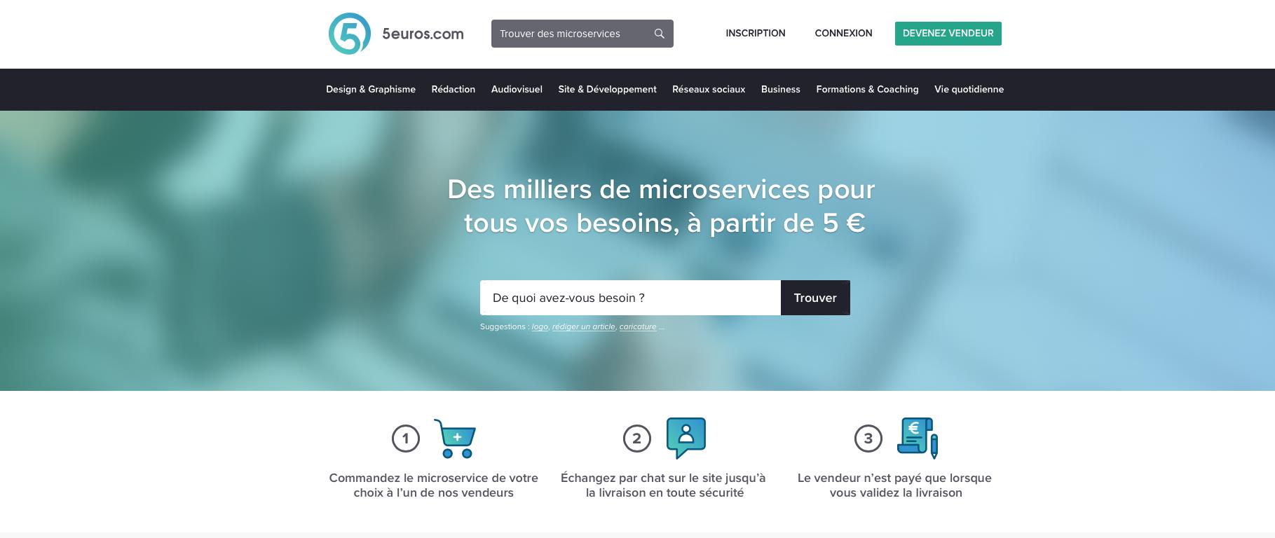 5euros : avis sur le site de freelance (avis acheteur et avis côté freelanceurs)